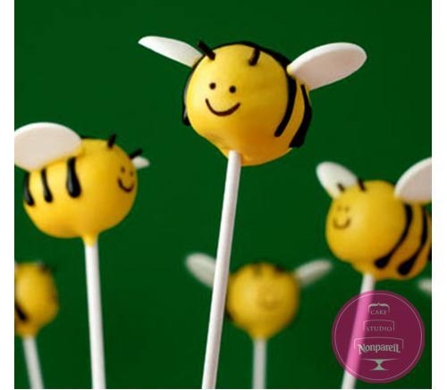 Кейк попс Пчелки