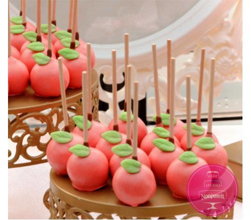 Кейк попс Розовые яблочки