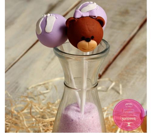 Кейк попс Сладкие мишки