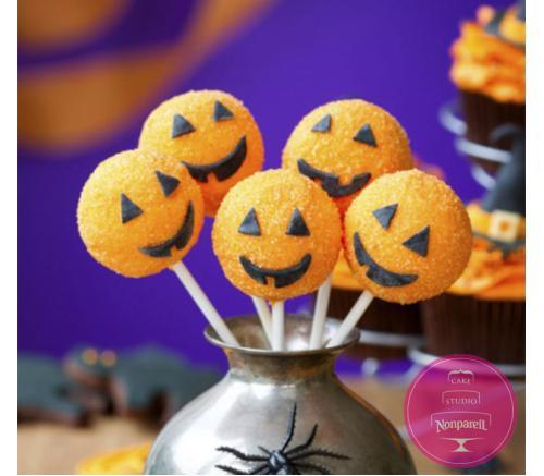 Кейк попс Хэллоуин
