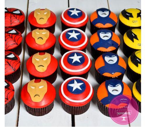 Капкейки Детские Супергерои