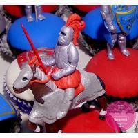 Капкейки Детские Рыцарские