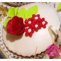 Капкейки Праздничные С весенними цветами