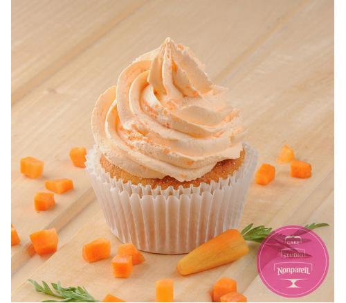 Морковный капкейк