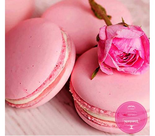Макаронс Нежно розовые