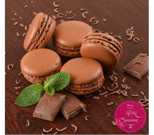 Шоколадные с мятным ганашом