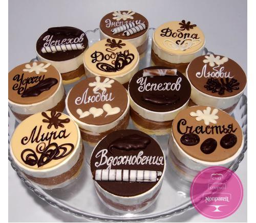 Пирожные Заказные С пожеланиями
