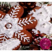 Пряники Праздничные Снежинки