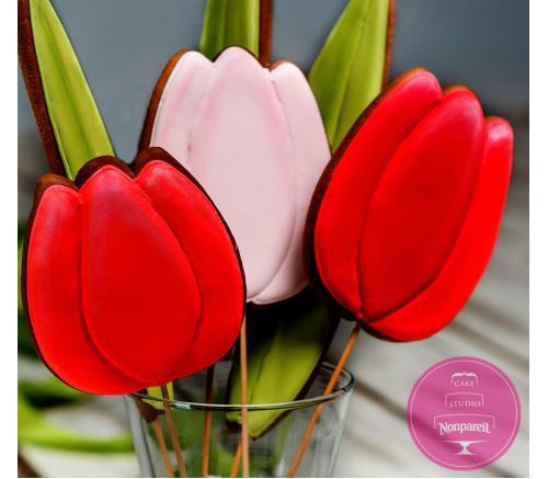 Пряники Праздничные Тюльпаны