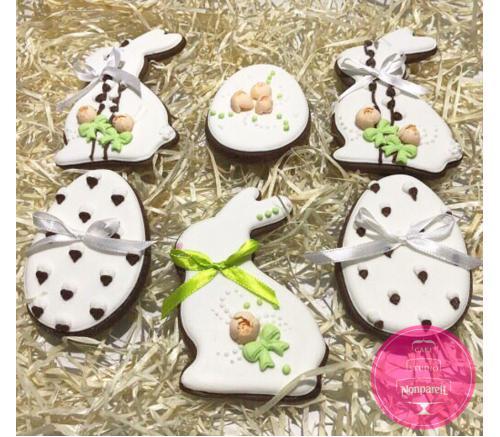 Пряники Праздничные Пасхальные зайцы (набор)