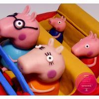 Торт Детский Свинка Пеппа в машине