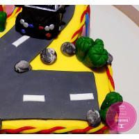Торт Детский Тачка на трассе