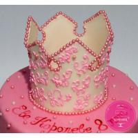 Торт Детский Корона принцессы