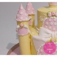 Торт Детский Замок принцессы