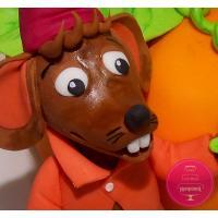 Торт Детский Мышонок с тыквой