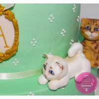 Торт Детский Милые котики