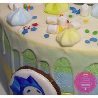 Торт Детский Фиксики с пряниками 1