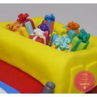 Торт Детский Грузовичек с подарками