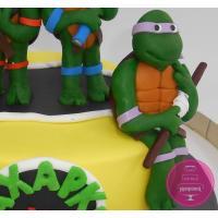 Торт Детский Черепашки ниндзя