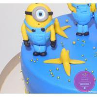 Торт Детский Компания миньонов
