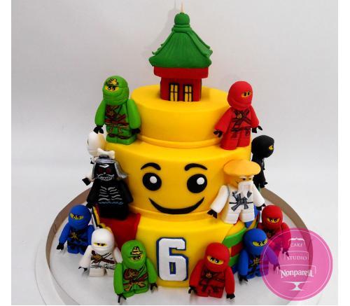 Торт Детский Ниндзяго 3