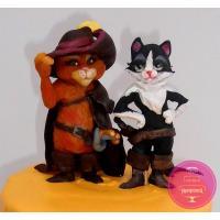 Торт Детский Кот в сапогах