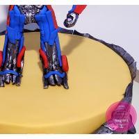 Торт Детский Оптимус Прайм