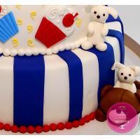 Торт Детский Милые мишки