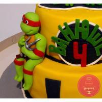 Торт Детский Черепашки ниндзя 2