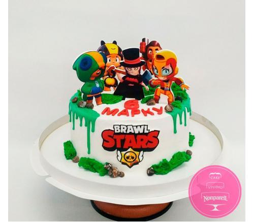 Торт Детский Brawl Stars 7