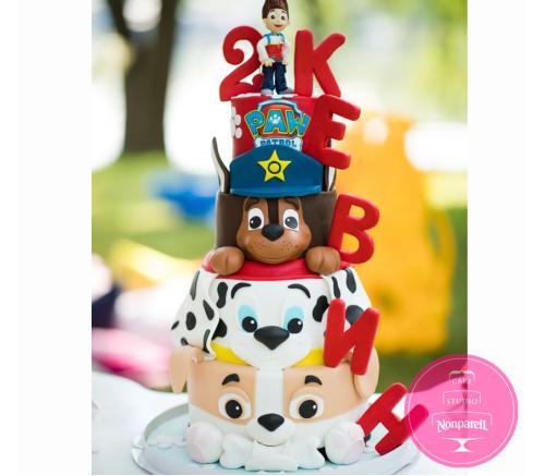 Торт Детский Щенячий патруль 6