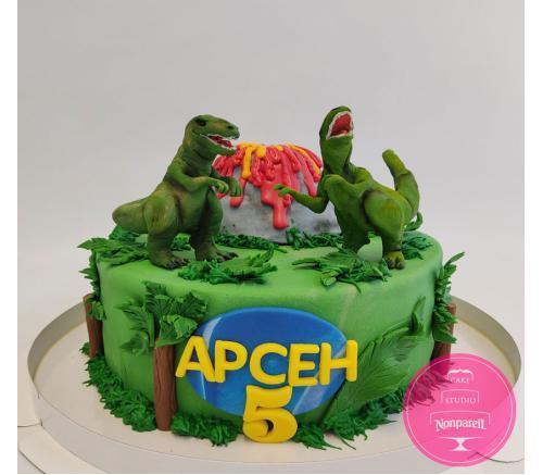 Торт Детский Динозавры