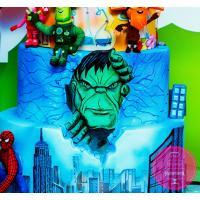 Торт Детский Фиксики и Супергерои