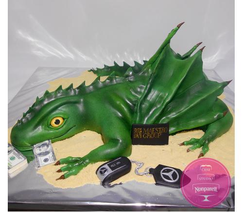 Торт Корпоративный Дракон