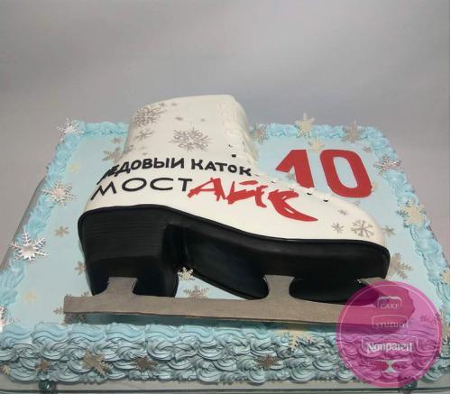 Торт Корпоративный Фигурный конек