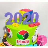 Торт Корпоративный для Триада в стиле 90-х