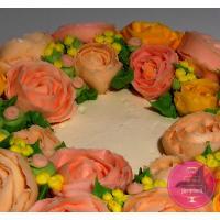 Торт Праздничный Малазийские цветы