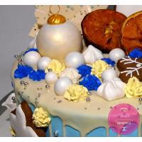 Торт Праздничный Новогодняя композиция