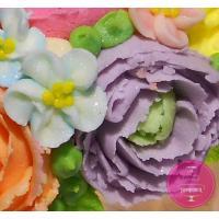 Торт Праздничный Малазийские цветы 4