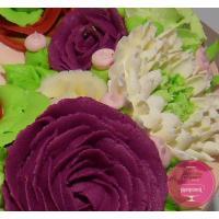 Торт Праздничный Малазийские цветы на поздравление