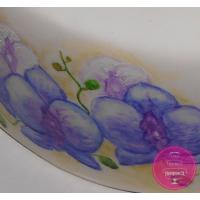Торт Праздничный Рисованные орхидеи