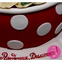 Торт Праздничный Кастрюля пельменей