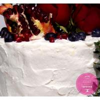 Торт Праздничный Гранат и розы