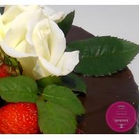 Торт Праздничный Ягоды и шоколад