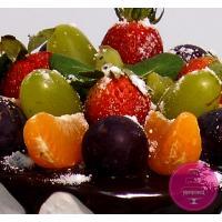 Торт Праздничный С фруктами