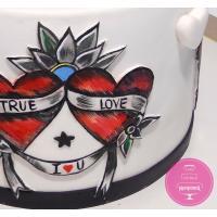 Торт Праздничный Два сердца