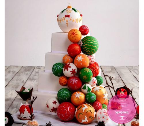 Торт Праздничный Новогодний