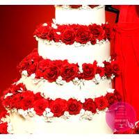 Торт Праздничный Женщина в красном