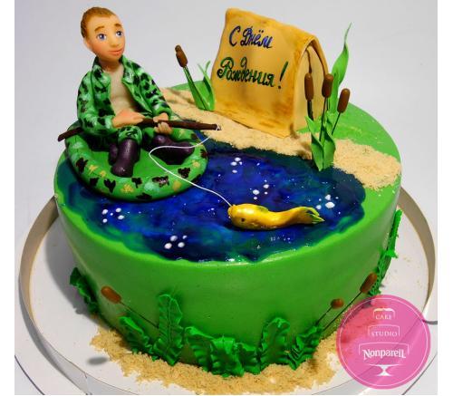 Торт Праздничный Для рыбака