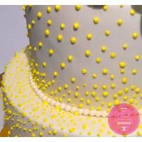 Торт Праздничный Желтый пион